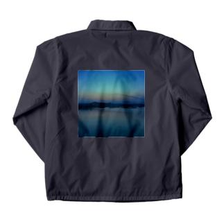 sunset#1 Coach Jacket
