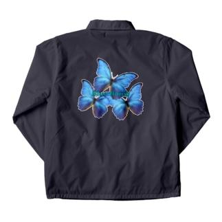 Blue:Bomb🦋 Coach Jacket