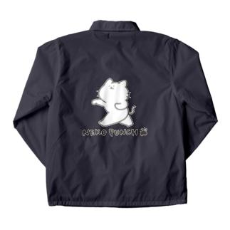 猫パンチ Coach Jacket