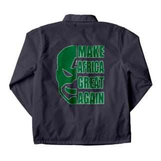 MAKE AFRICA GREAT AGAIN Coach Jacket