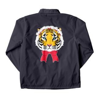 おめかし虎 Coach Jacket