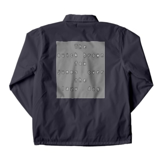 The quick brown fox jumps over the lazy dog Coach Jacket