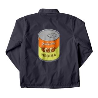 yakitori can 焼き鳥 ねぎま缶 217 Coach Jacket