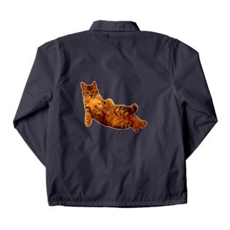 Elegant Cat 2 Coach Jacket
