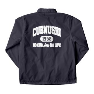 CUBNUSHI(カブ主) NO CUB NO LIFE Coach Jacket