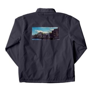 雲と風景の服 Coach Jacket