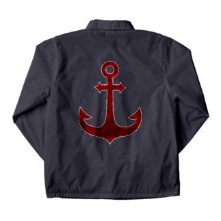 錆びた錨 Coach Jacket