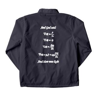 Maxwell方程式よあれ... Coach Jacket