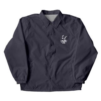 獣の顔の服 Coach Jacket