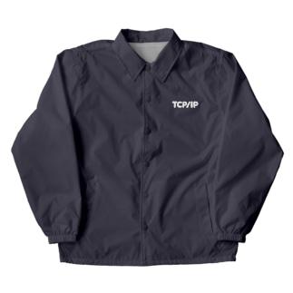 TCP/IP White Ink Coach Jacket