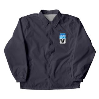 ドット牛乳 (レトロ瓶) Coach Jacket