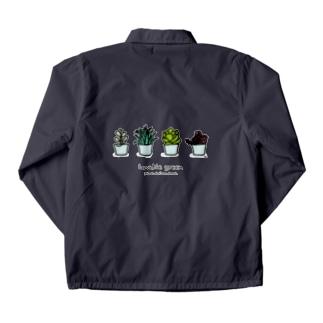 多肉植物 コーチジャケット