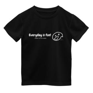 りんごやさん。のまいにちたのしい!こいめ Dry T-shirts