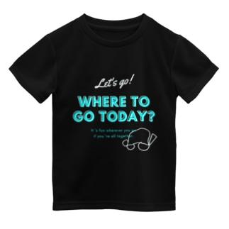 きょうはどこいく?こいめ ドライTシャツ