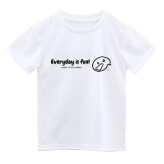 りんごやさん。のまいにちたのしい! Dry T-shirts