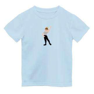 バレエ王子 Dry T-Shirt
