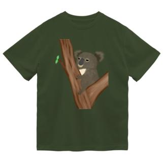 コアラ 抱っこあら ドライTシャツ