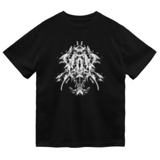 フラグメント(白ver) Dry T-shirts