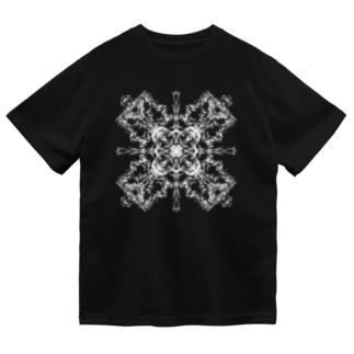シンメトリ(白ver) Dry T-shirts