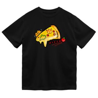 ねこピザ① ドライTシャツ