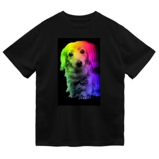 Space Dog (Rainbow) ドライTシャツ