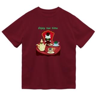 Enjoy tea party♪ Dry T-Shirt