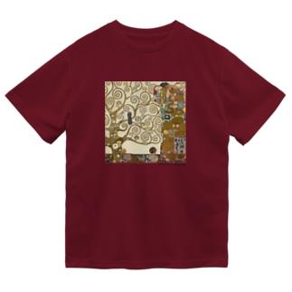 名画を楽しむてんとう虫〜抱きあう絵画〜 Dry T-Shirt