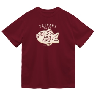 てんねんたいやきB Dry T-shirts