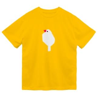 文鳥といっしょに Dry T-Shirt