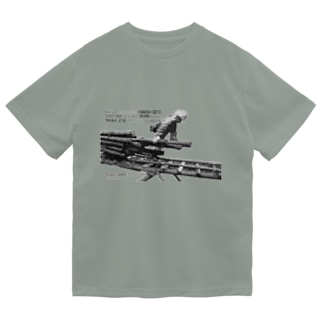 そりを引く(パズル) Dry T-Shirt