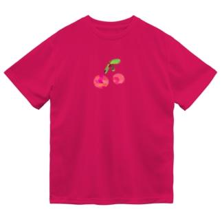 さくらんぼ(自我) Dry T-shirts