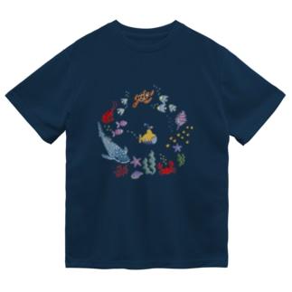 海の日プラスジンベエザメ Dry T-Shirt