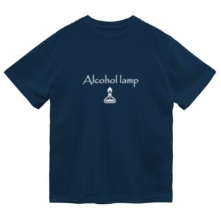 アルコールランプ白 Dry T-Shirt