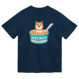 柴クリーム100%のシバアイス ドライTシャツ