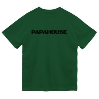 PAPAHOUSE ロゴT Dry T-Shirt
