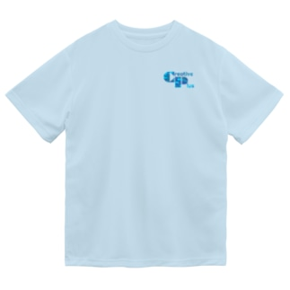 カモフラージュCP-Logo(青) Dry T-Shirt