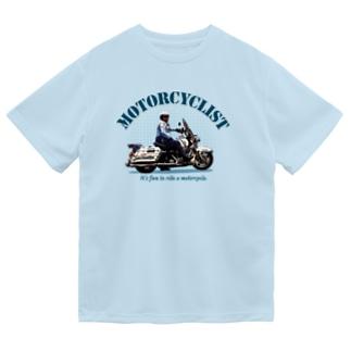 Motorcyclist Police ドライTシャツ
