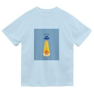 ナポリタン泥棒(blue) Dry T-Shirt