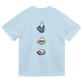 いたずらっこ犬(鹿子木 美) Dry T-Shirt