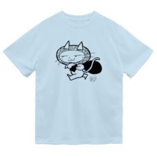 持ってけ怪盗(白黒) Dry T-Shirt