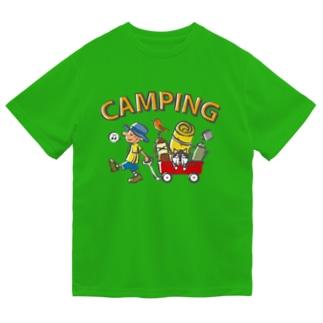 キャンピング Dry T-Shirt