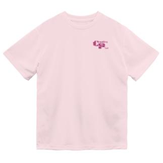 カモフラージュCP-Logo(赤) Dry T-Shirt