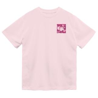 カモフラージュCP-Logo2(赤) Dry T-Shirt