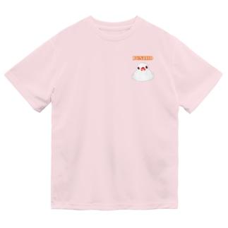 ふもふも白文鳥② Dry T-Shirt