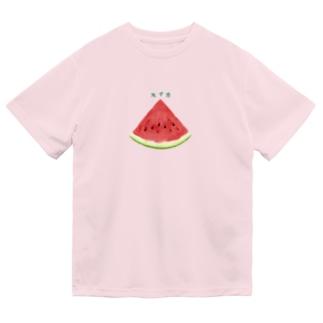 すとろべりーガムFactoryのスイカ Dry T-Shirt