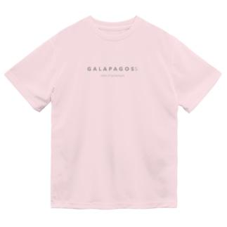 GALAPAGOSS ※グレーの文字 Dry T-Shirt