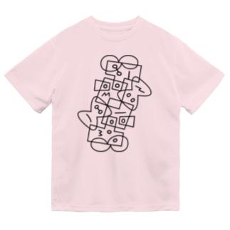 ドライT/b_006(ラインシリーズ) ドライTシャツ