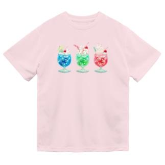 ヒロコのクリームソーダ Dry T-Shirt