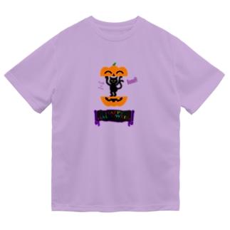 かぼちゃねこ🎃2020 Dry T-Shirt