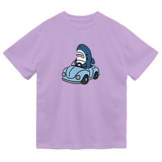 運転を覚えたサメ2021 ドライTシャツ